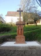 Obnovený Kříž Svaté Trojice ve Stárkově