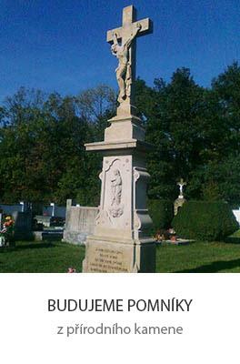Budujeme pomníky z přírodního kamene. Hrobky, náhrobky, hroby včetně montáže a všech doplňků