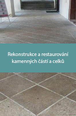 Rekonstrukce a restaurování kamenných částí a celků